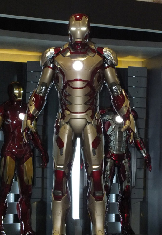'Iron Man 3' armour unveiled at Comic-Con. But is it the ...